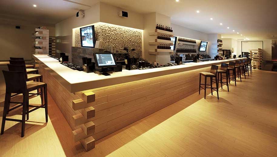 Locali pubblici for Arredamenti per bar moderni