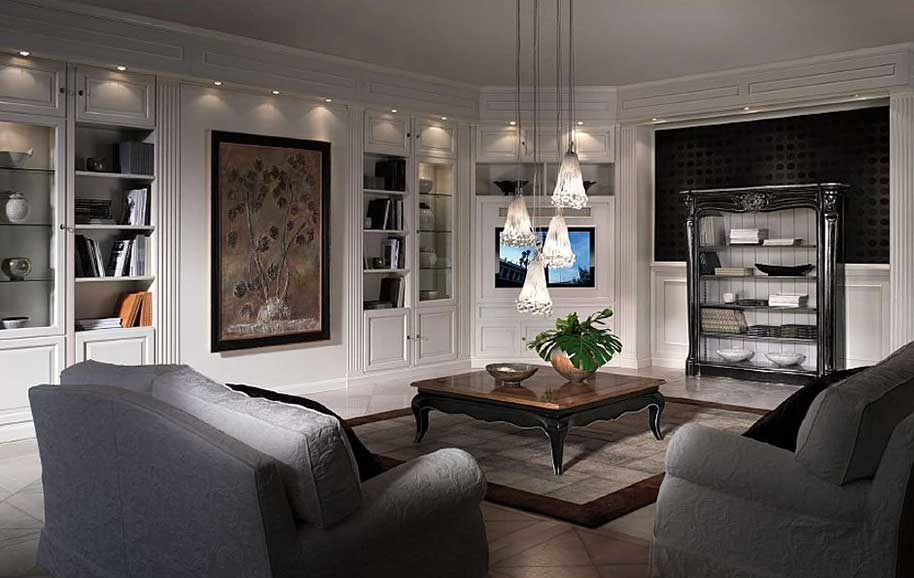 Boiserie salone rivestire le pareti di eleganza e for Pareti salone