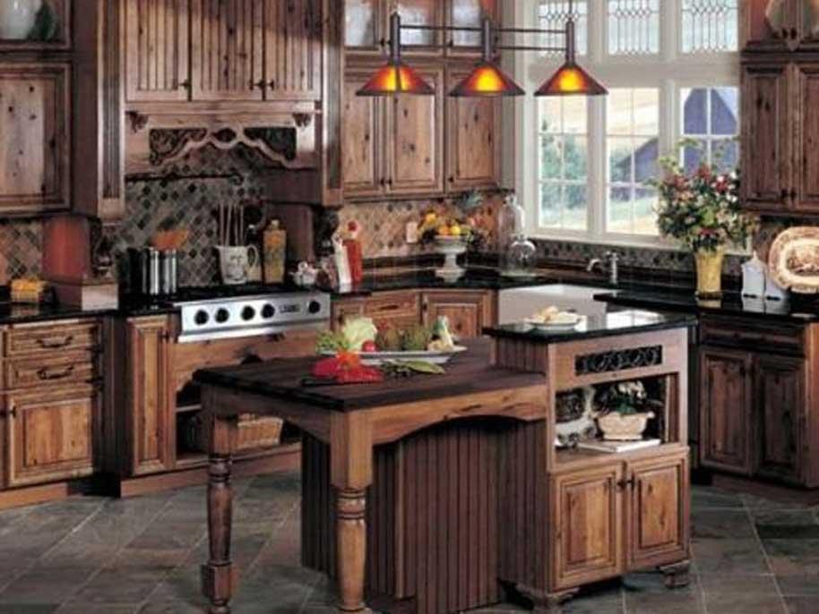 Cucine artigianali in legno massello