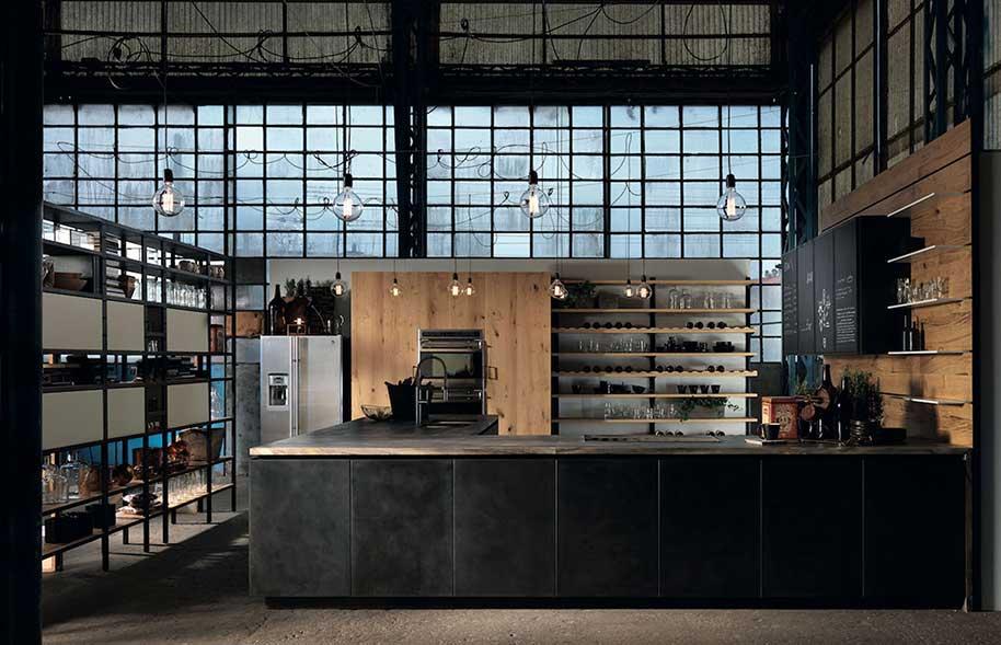 Cucine stile industriale su misura - Camera da letto stile industriale ...
