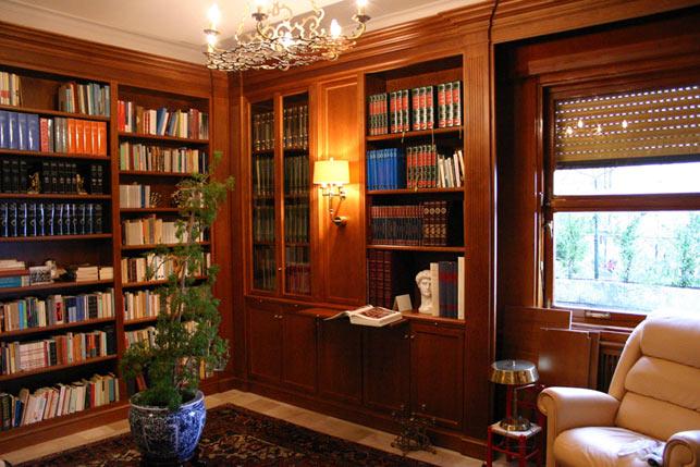 Librerie su misura nel tri veneto lombardia ed emilia for Arredamento per librerie